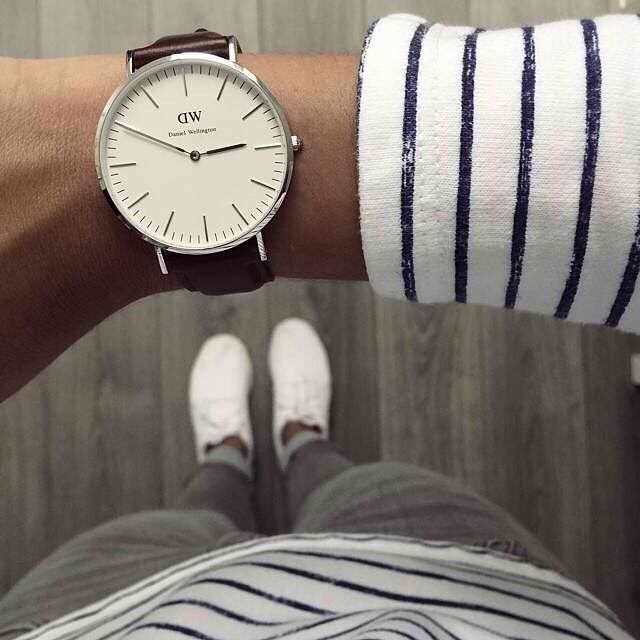 Daniel Wellington watch! Stunning simplicity.