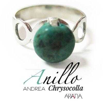 Anillo Andrea Chrysocola
