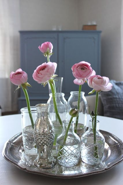 ✿ Flacons fleuris ✿