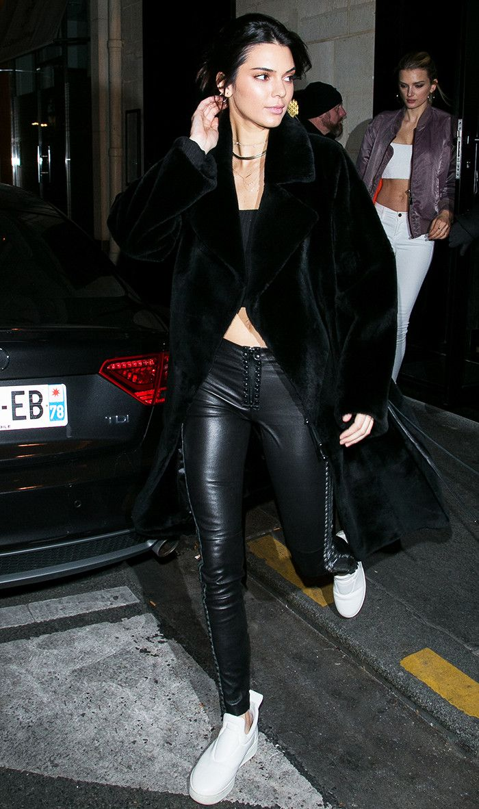 Best ideas to stay cozy amp look stylish in winter fashion amp trend - Kendall Jenner Is A Major Fan Of This Winter Trend
