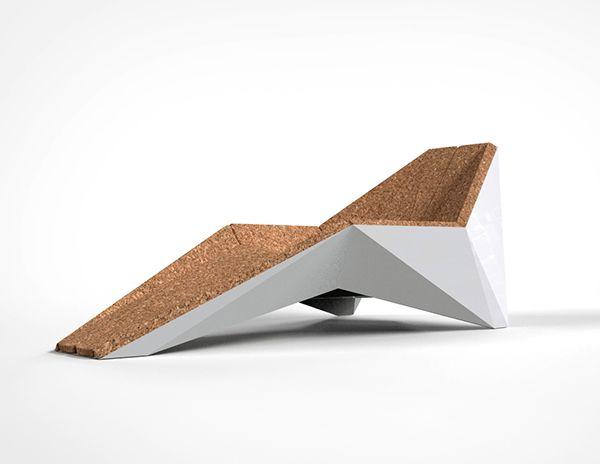 Xarp // Chaise Longue by Rui Silva, via Behance