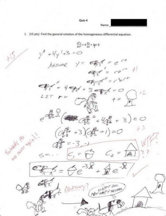 Respuestas de exámenes