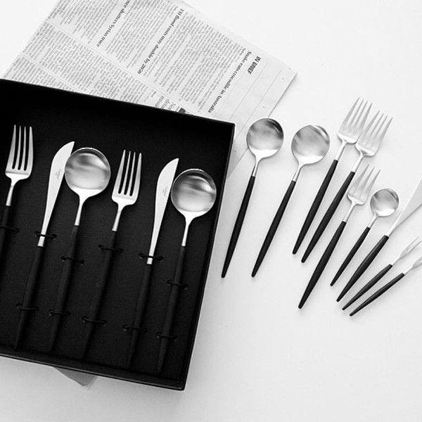 Vi önskar oss bestickset <3 32100950 ASA-Selection Goa cutlery set with 24 pcs. GOA in a gift