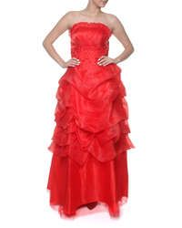 Snow White Princess Evening Gown - Red