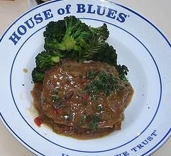 Cajun Meatloaf Recipe served at House of Blues in Downtown Disney at Disney World