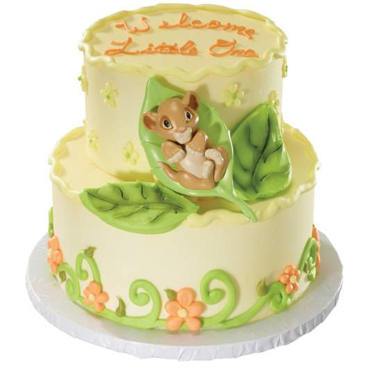 THE LION KING Baby Simba DecoSet® Cakes