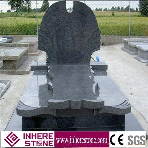 China Grey G654 Granite Cheap Headstones - Xiamen Inhere Import & Export Co., Ltd.