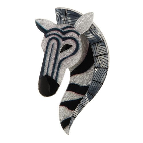 Erstwilder Limited Edition Zelda the Zany Zebra Brooch; $34.95 (AUD)