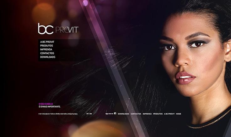 Site BC Provit. Site Premium para uma marca Premium >> www.bcprovit.com/PT/