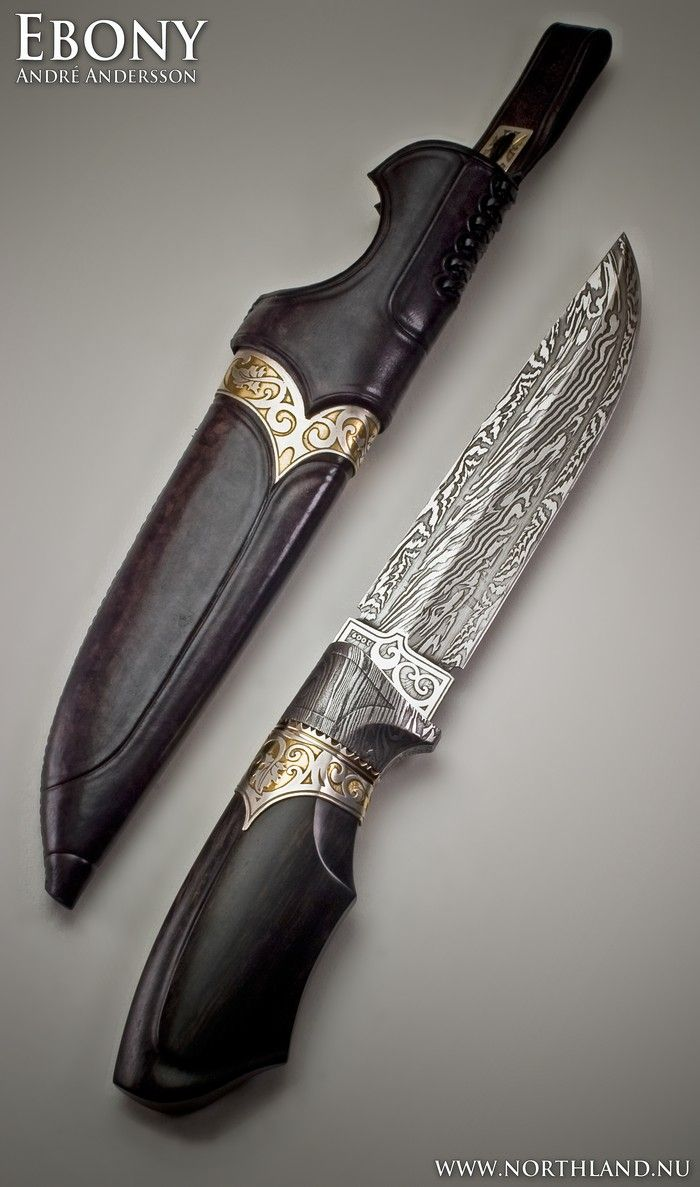 Work from 2009   André Andersson Custom Knives