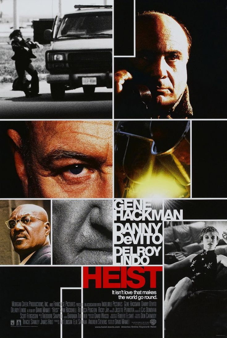 Heist 2001 poster