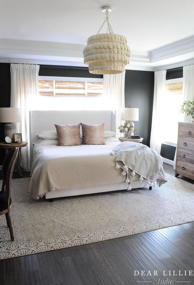 Adding A Light Fixture To Our Master Bedroom In 2020 Master