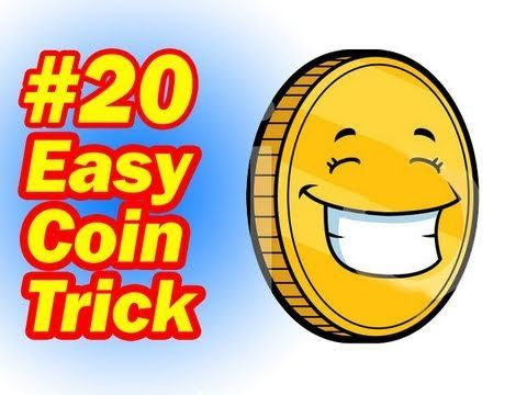 ▶ Easy Coin Trick - Simple Magic For Children - How To Do Magic Tricks With Coins - YouTube