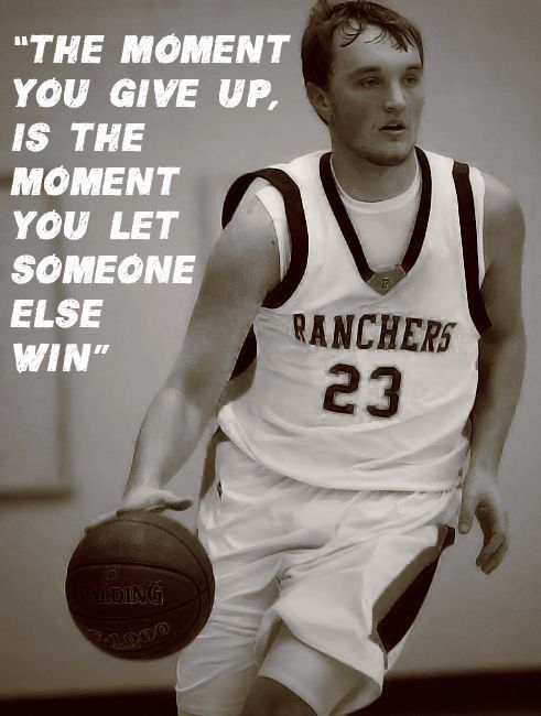 Basketball quote