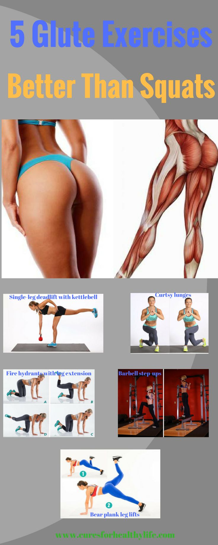 Let's be honest – squats can be rather boring and unenjoyable. Or they can activate a long forgotten knee pain right when you least need it. So is there a better way to tone your glutes and get a firm, round butt? Of course there is. You don't have to rely on squats to achieveContinue Reading