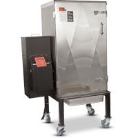 This is what you want at the next competion smoking event, or in your backyard!- The Barbecue Smoker Oven Cookshack Fast Eddys Bbq Fec100