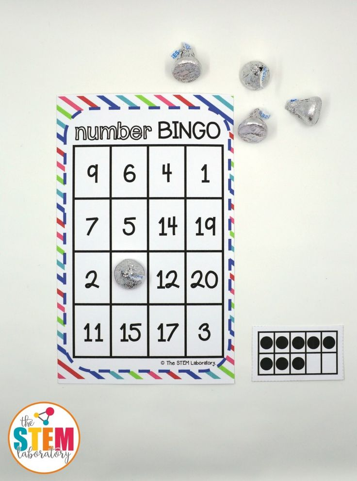 Number Bingo | Teen numbers, Fun activities and Math