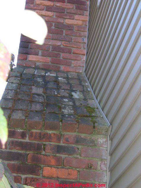 Stepped Brick Chimney Cabin Chimney Pinterest Brick