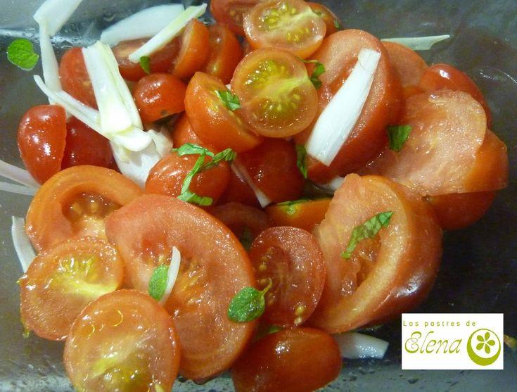 Ensalada de tomates variados de Gordon Ramsay #Recetas #Tenerife #Canarias #España #Vegetariana #Vegana #Vegetarian #Vegan #Ensalada