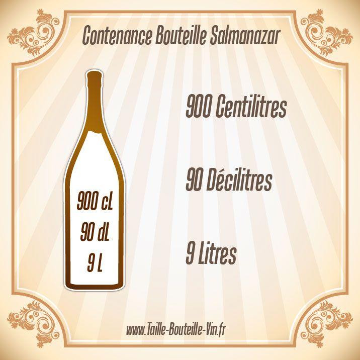 Contenance bouteille salmanazar
