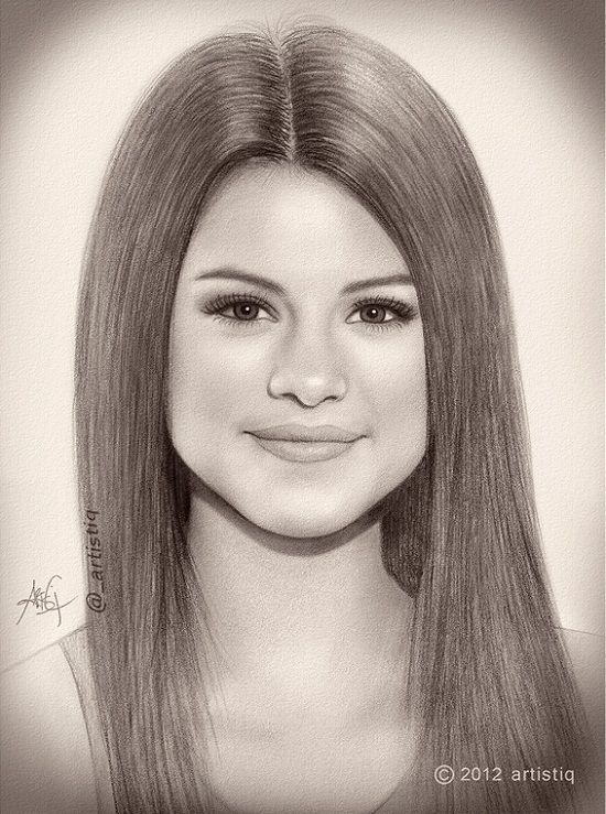 17 Best images about Selena Gomez drawings on Pinterest ...
