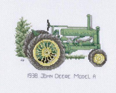 Crafty Cross Stitch: John Deere - free pattern