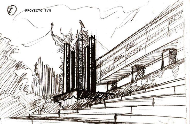 Bocetos realizados para proponer a TVN /Porto 4