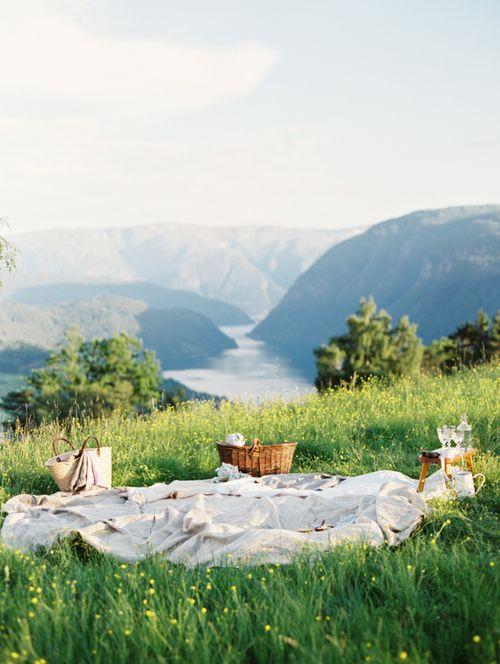 Hillside picnic