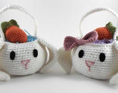 Fotos e Ideias - Decoração de Pascoa em Crochê