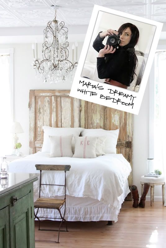 the lettered cottage's favorite room re-do's: Diy'S Headboards, Creative Bedrooms, Old Doors Headboards, Cottages Bedrooms, Headboards Idea, Diy'S Bedrooms, Bedrooms Idea, Dreamy Bedrooms, Cool Rooms