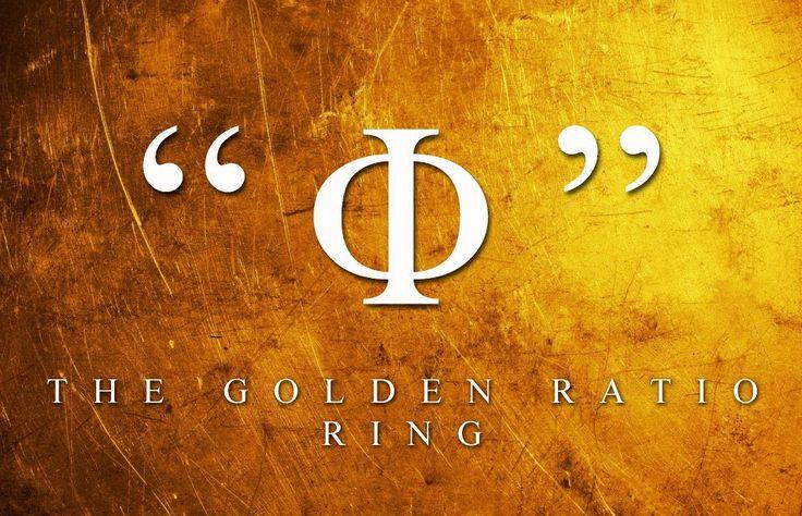 «Φ» The Golden Ratio Ring by Pericles Kondylatos Gold & Amethyst «Φ» Ring is being made in order to honor the Golden number.