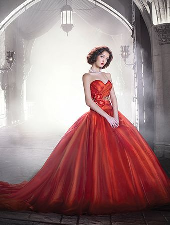 Snow White - this dress also comes in white, but the red is so beautiful!  http://www.alfredangelo.com/Collections/Disney-Fairy-Tale-Bridal/250/?pg=1
