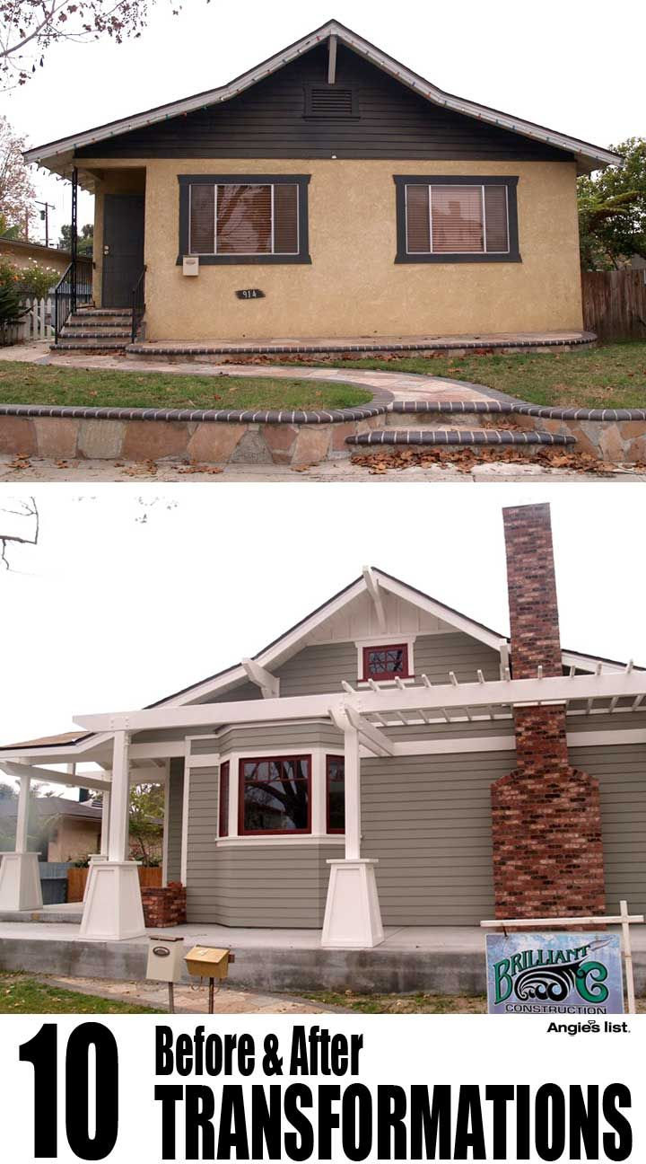 Home Exterior Renovation Before And After 176 best ugly house makeovers images on pinterest | exterior