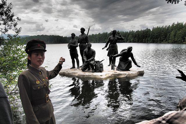 Local Guide at Lake Samil