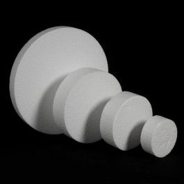 DISCO POREXPAN En este apartado encontrarás discos de porex (o poliestireno expandido) de 5 medidas y 4 grosores, perfectos, dada su superficie lisa, para pintar o recubrir de purpurina, pan de oro o cualquier material similar que se te ocurra. #MWMaterialsWorld #discosporexpan #discosporex #figurasporex #foamcircle #EPScircle