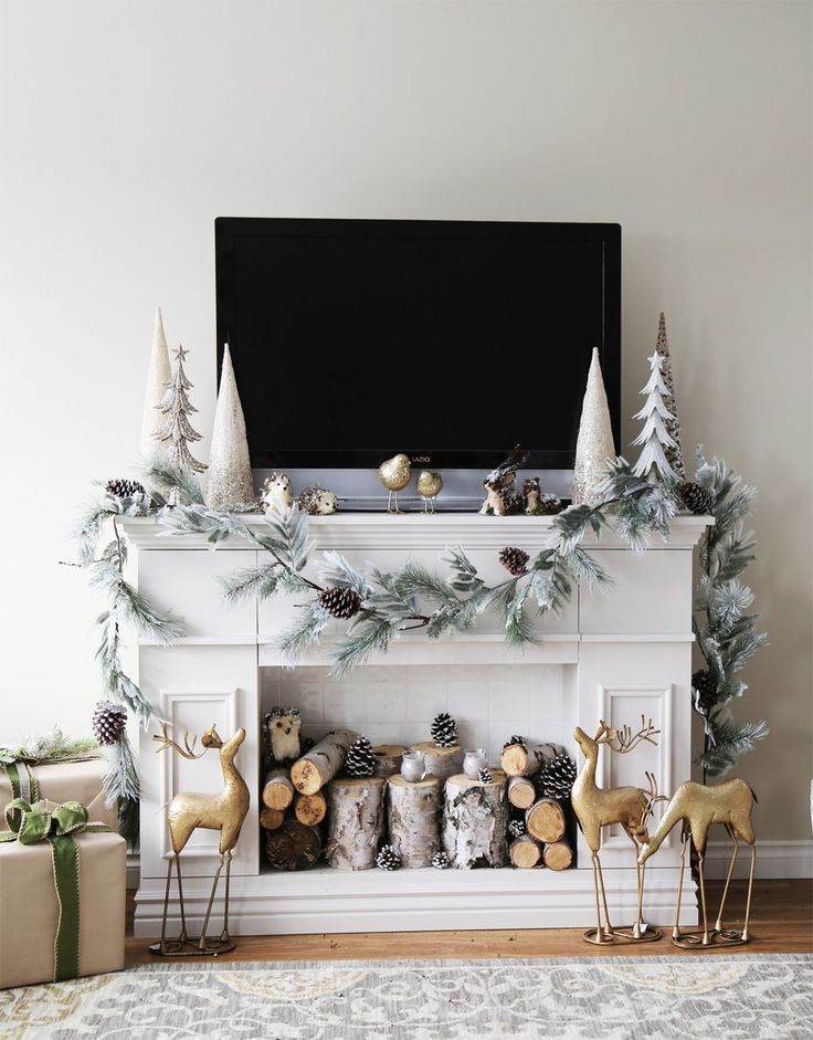 Faux Fireplace Frame | Ana White | Let's Build Something!