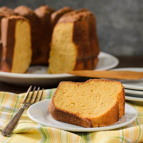 Buttermilk Sweet Potato Pound Cake