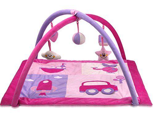 Lil Jumbl Baby Play Mat Gym Pink