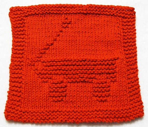 Knitting Cloth Pattern Red Wagon Pdf Dishcloth Knitting Patterns Knit Dishcloth Blanket Knitting Patterns