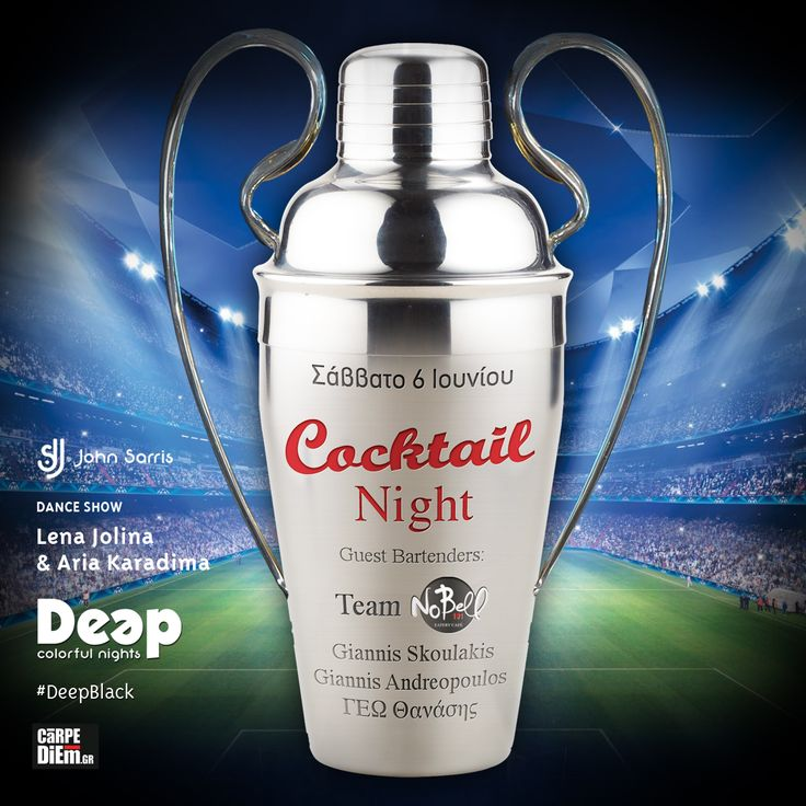 #ChampionsLeague #Cocktail Night! #DeepBlack #SaturdayNights at Deep