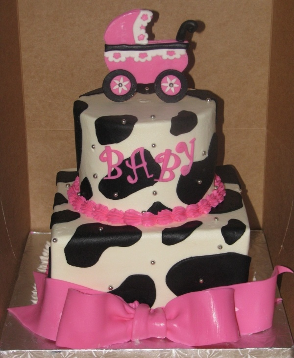 Image detail for -Cow Print Baby Shower by MARTIEQZ on Cake Central