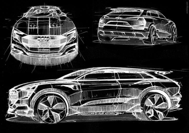 2015 Audi e-tron Quattro Concept  #2015 #Audi #Quattro #e_tron #Audi_e_tron_Quattro #German_brands #Segment_J #2015MY #Concept #EV #Audi_Q6