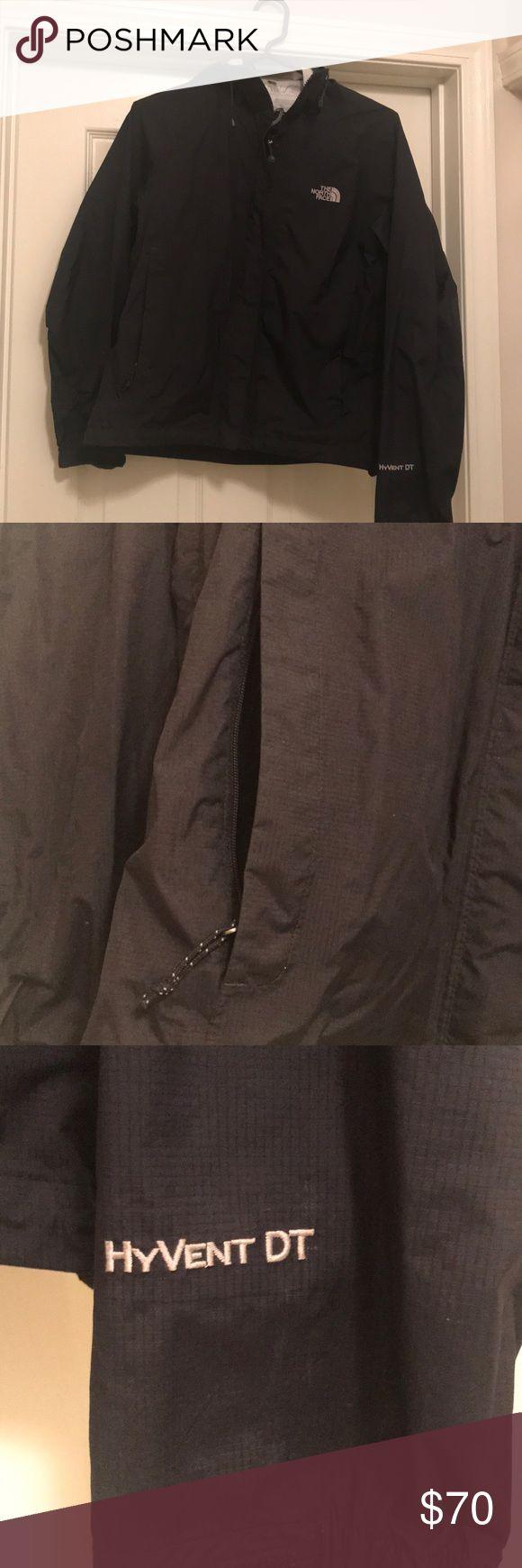 North Face Black Rain Jacket Amazing basic rain jacket. Just looking for something new! Great used condition. North Face Jackets & Coats