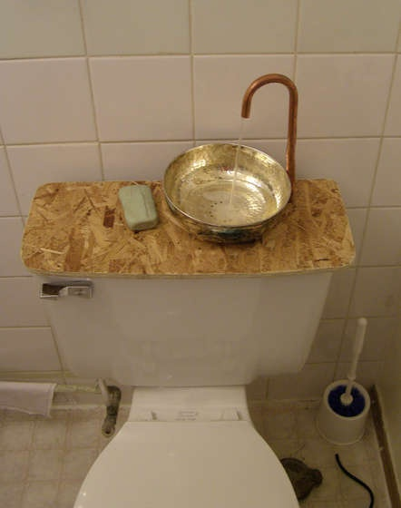 Brilliant water saving hack for your toilet on Instructables.