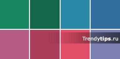 Цветотип холодное лето палитра Яркие цвета используют в аксессуарах, вечерних нарядах, в спортивной одежде. Они всегда привлекают к себе своей насыщенностью цветом. Их часто используют как цветовые акценты, которые способны оживить наряд.