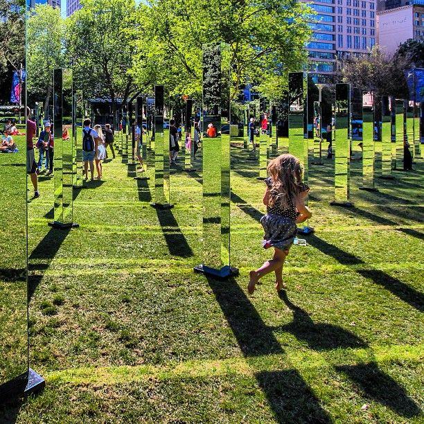 Maze of Mirrors Mesmerizes Visitors Inside Sydney's Hyde Park - My Modern Metropolis
