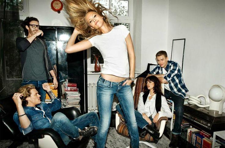 Производство джинсы биг стар