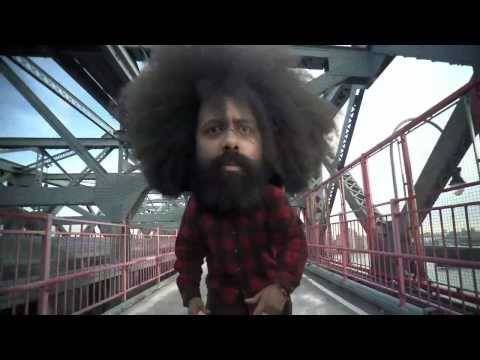 Fuck Shit Stack - Reggie Watts (best parody of rap videos ever and he does all the music himself)