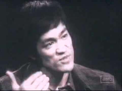 Interview Bruce lee about water, A peaceful warrior in its truest form. Be water my friend.