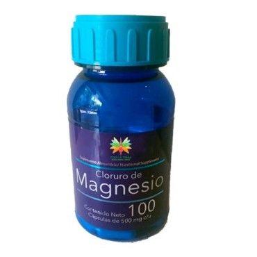 Cloruro de Magnesio 100 Cápsulas